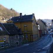 Nettestraße, Abzweig Grabenstraße, mit der Lügenbrücke