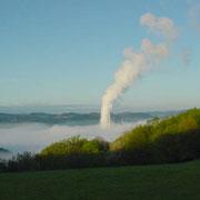 Nebelfabrik - das Kraftwerk Elverlingsen