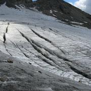 Gletscher ab einer gewissen Größe müssen halt einfach prahlen :-)