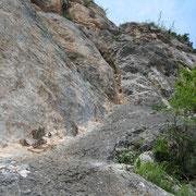 3. SL von unten (links: Verschneidung 6, rechts: Riss 6-)