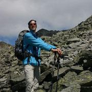 Gerhard im Aufstieg