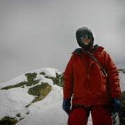 """nach über 2 Wochen im Tal fast schon der """"Hausherr"""": Peter Biermayr"""