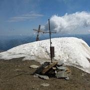 1 Gipfel - 2 Kreuze