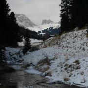 wenig Schnee 2007