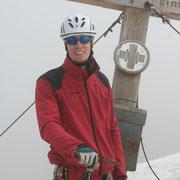 Wetterwechsel am Gipfel, also...