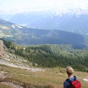 das Val Zacarogn, wildromantisches Auf- und Abstiegstal