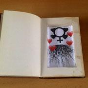 Anabel Cabello (Libro de artista con poema visual)