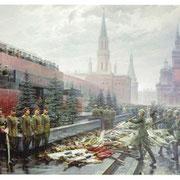 Il trionfo del popolo vittorioso di Michail Chmel'ko, 1949