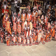 Massai- Paare