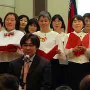 山口先生の編曲によるカッチーニのアヴェ・マリアを歌う前の、先生のご挨拶。
