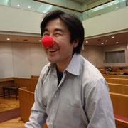 赤鼻に一番ノリノリの山口浩史先生