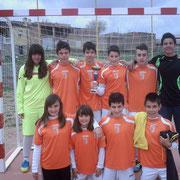 Campéon Torneo S. Santa Infantil vs SAN PEDRO EDM 13-7