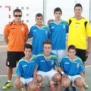 Campeones Concentración Puente de Génave ganando 1-2 al Puente y 0-4 a La Puerta