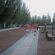 Subcampeones ante una selección del Campo de Montiel