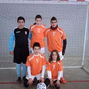 1ª CONCENTRACIÓN RECREATIVA Valdeganga 2-12-2012 Baloncesto y Fútbol Sala