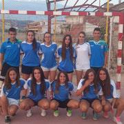 VFS GIRLS con victorias 0-16 en Bienservida y 9-4 a las chicas sénior de Villapalacios