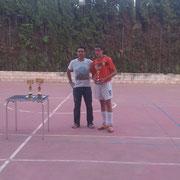 Álvaro elegido mejor jugador del torneo