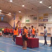 Álvaro pichichi de la IV Quijote Futsal Cracks con 10 goles