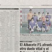 Villapalacios B en el periódico