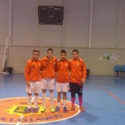 Jugadores del Villapalacios en la Selección de Castilla la Mancha Sub 16