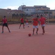Final Copa Comarcal Partido 2, victoria 16-4 contra el Alcaraz en Villapalacios