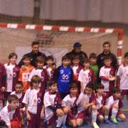Selección CLM Benjamín con Iván. Primer entrnamiento: Ciudad Real