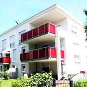 2010 9-Familienhaus Sofie-Scholl-Straße in Renningen, Architekt Dipl.Ing. U. Gehrer