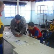 Los participantes con buena participación.