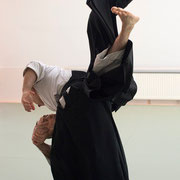 gyaku-hanmi katatedori koshi-nage i逆半身片手取り腰投げ