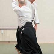 yokomen-uchi shihō-nage 横面打ち四方投げ
