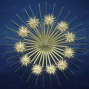 G 3 Grasrosette mit doppelten Sternchen