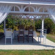 Dekoration Trau-Pavillon