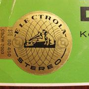 Sticker auf Klassik-LP diente vermutlich um falsche Serien-Nr. zu überdecken - Der Zigeunerbaron  (Electrola 80460, GER 196x)