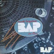 BAP-Sticker als Beilage im Album BAP - ZWESCHE SALZJEBÄCK UN BIER (GER 1984, Musikant – 32 194-3)
