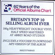 Sticker auf Plastikfolie, Queen - Greatest Hits II (EU 2016, Virgin EMI Records – 0602557048445)