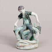 Marianne mag auch Schlangen H 15 cm, Keramiplast)