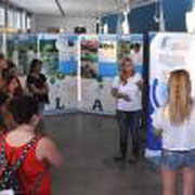 Visitors at the Marine Biology Station at Piran in Slovenia for WOD – 2015