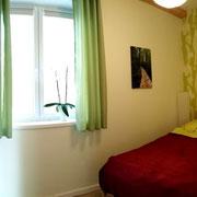 Schlafzimmer EG Ferienhaus Seepromenade in Storkow