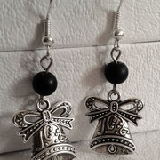 Gothic Lolita Christmas Bell Earrings