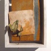 EVA ADEMI - KEIMLING I (ATR) - diverse Materialien, 24 x 15 x 8 cm, 2009