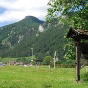 Aussicht von Erl zum Kranzhorn