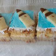 Пирожные в английском стиле для оксфордского центра, роскошные на белом шоколоде