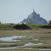 Baie du Mont-Saint-Michel (Manche) : le Mont