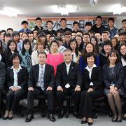 美都里慕日本语学校 2014年4月入学式集体照