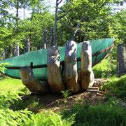 Glasarche am Lusen im Nationalpark Bayerischer Wald