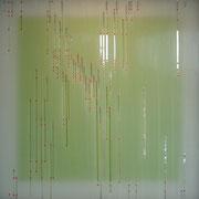 """Daekwan Kim """"DAS LICHT AUF DEM WASSER"""" - tOG Nr. 018 - 50x50x4 cm (c) Dirk Palder tOG Düsseldorf"""
