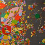 Daniel Kho - tOG Nr.03 - Urban - 80 x 100 cm - 2013 - Mixed Media auf Canvas