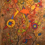 Daniel Kho - tOG Nr.01 - Landscape - 130 x 100 cm - 2004 - Mixed Media auf Canvas