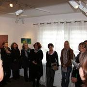 Eröffnung der Ausstellung durch den Galeristen Dirk Palder