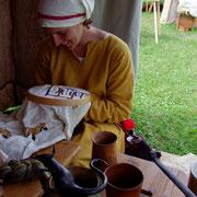 2014 Burgdorf   Ahhhh der Bayeux Teppich, wann er wohl fertig ist.....